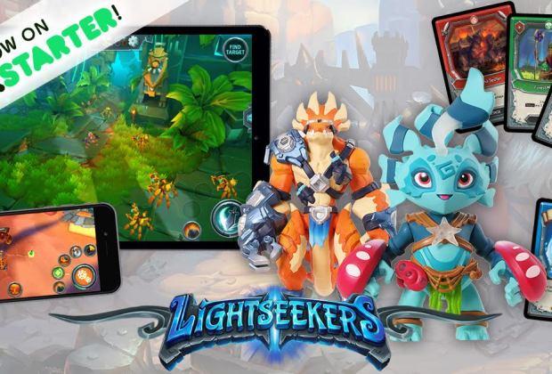 Lightseekers on Kickstarter