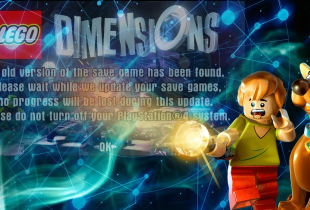 LEGO Dimensions - Save Data Being Erased?