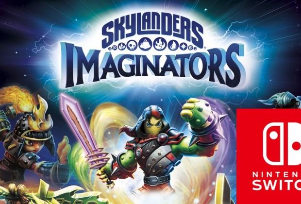 Skylanders Imaginators on Switch