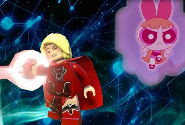 LEGO Dimensions - Powerpuff Girls Lantern Constructs