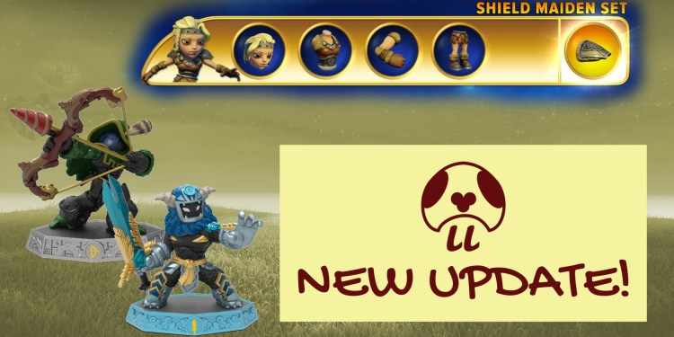 New Skylanders Imaginators Patch