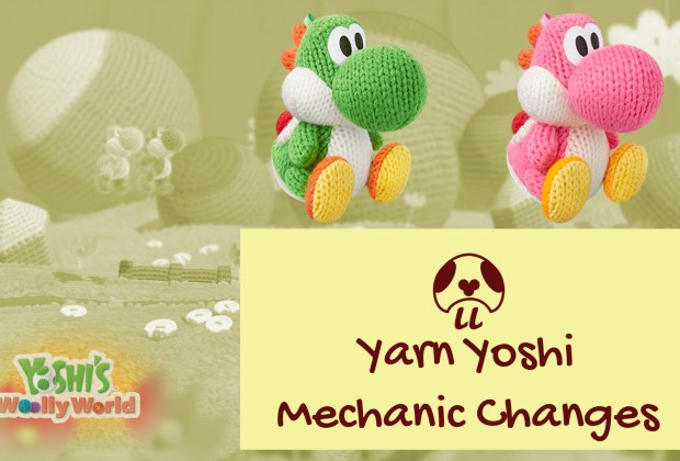 Poochy & Yoshi's Woolly World - Double Yarn Yoshi Mechanic Changes