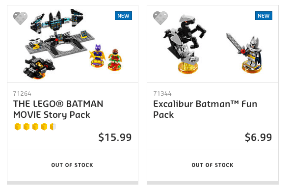 LEGO Dimensions - LEGO Batman Movie Packs @ LEGO Store