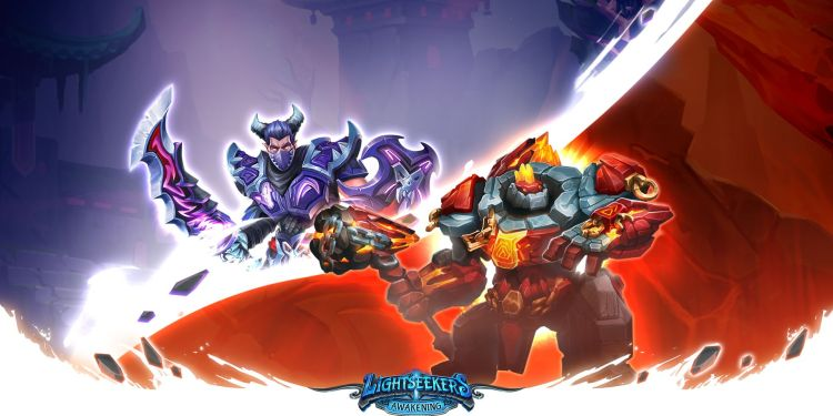 Lightseekers Awakening - Dread and Mountain Order Heroes
