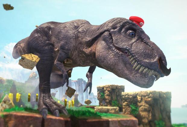 Super Mario Odyssey - Dino Mario