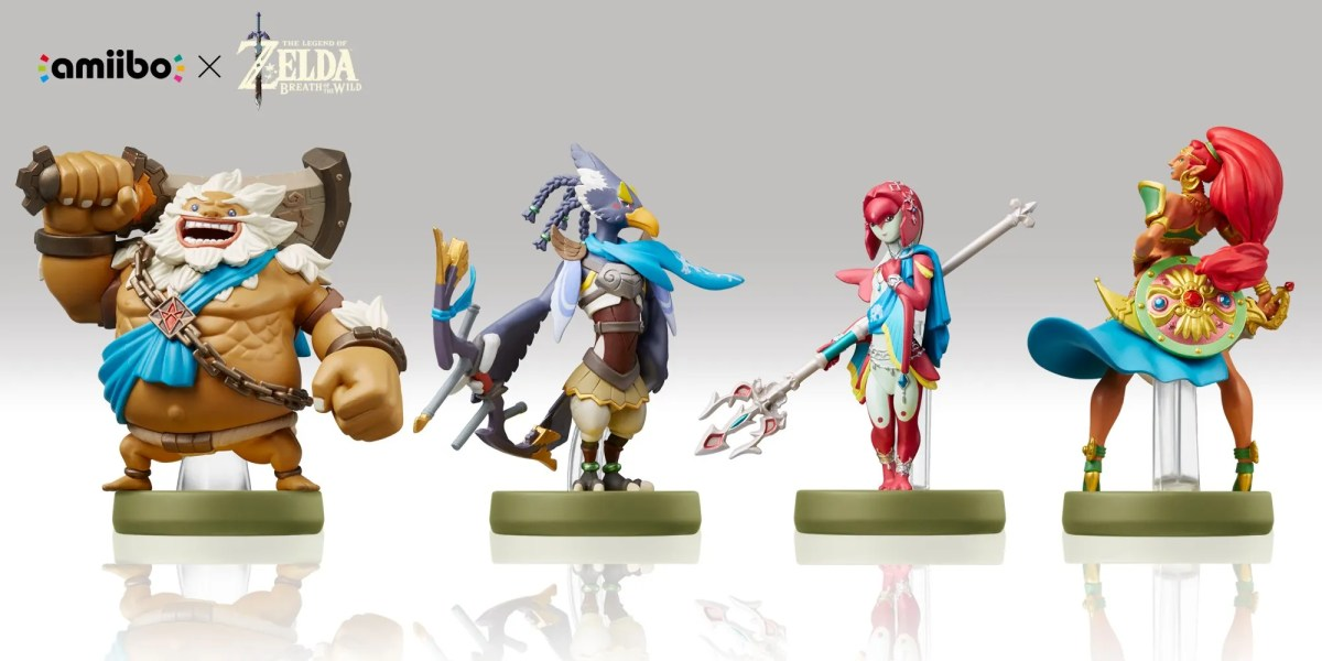 The Legend of Zelda: Breath of the Wild - Four Champions amiibo