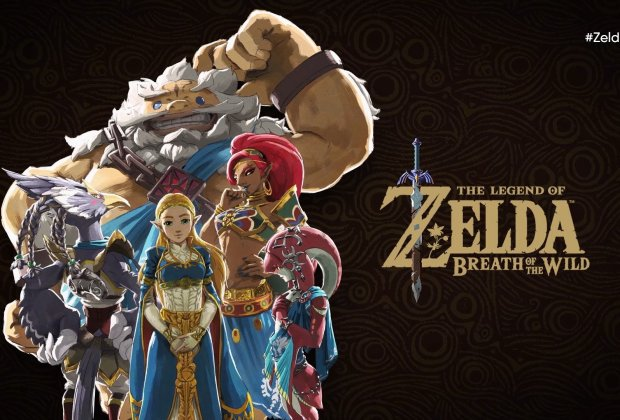 The Legend of Zelda: Breath of the Wild - Four Champions