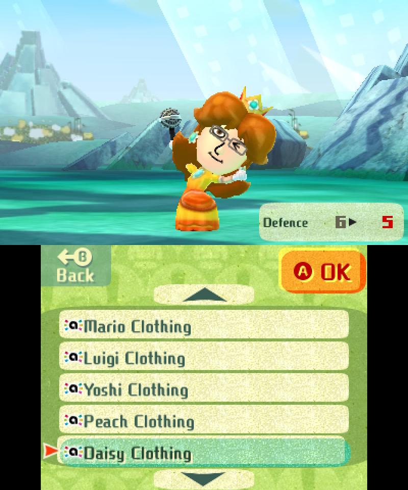 Miitopia amiibo Costume - Daisy