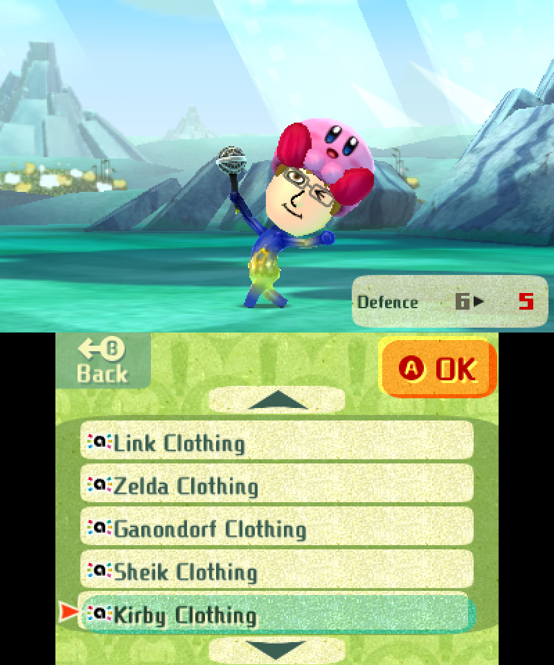 Miitopia amiibo Costume - Kirby
