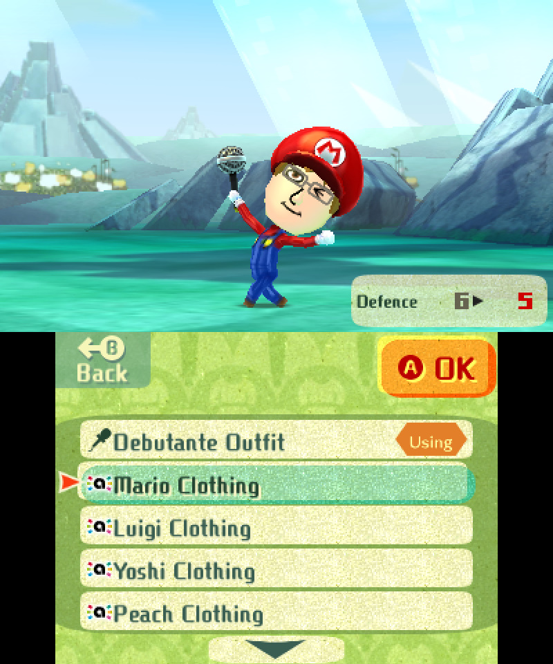 Miitopia amiibo Costume - Mario