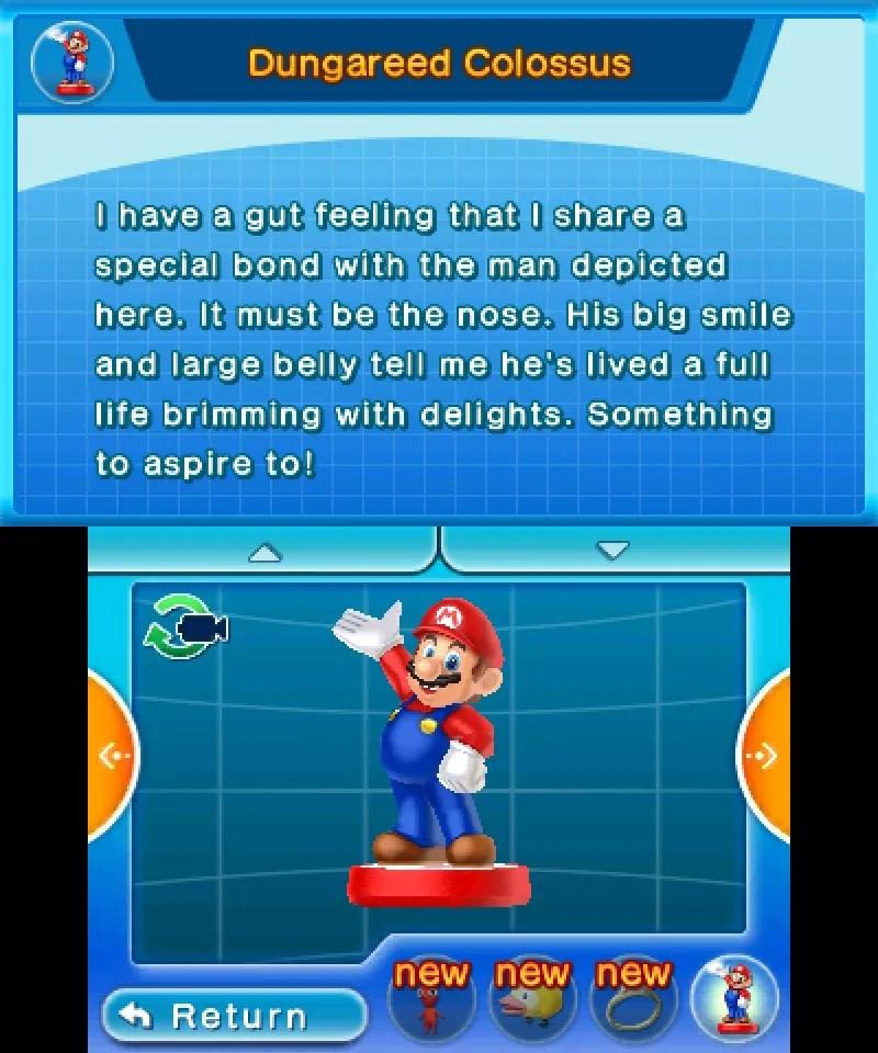 Hey! Pikmin - Mario amiibo