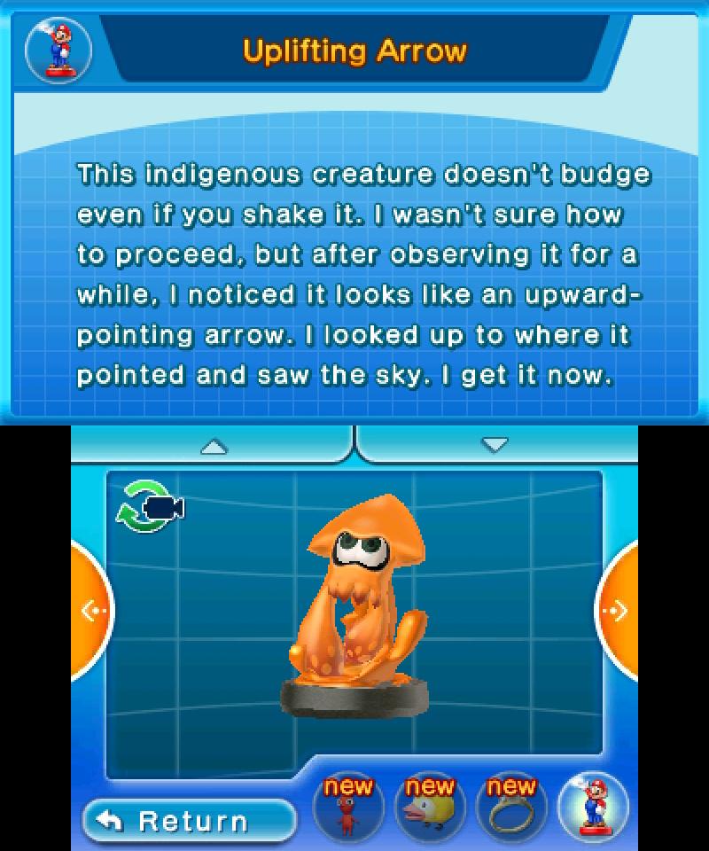 Hey! Pikmin - Inkling Squid amiibo