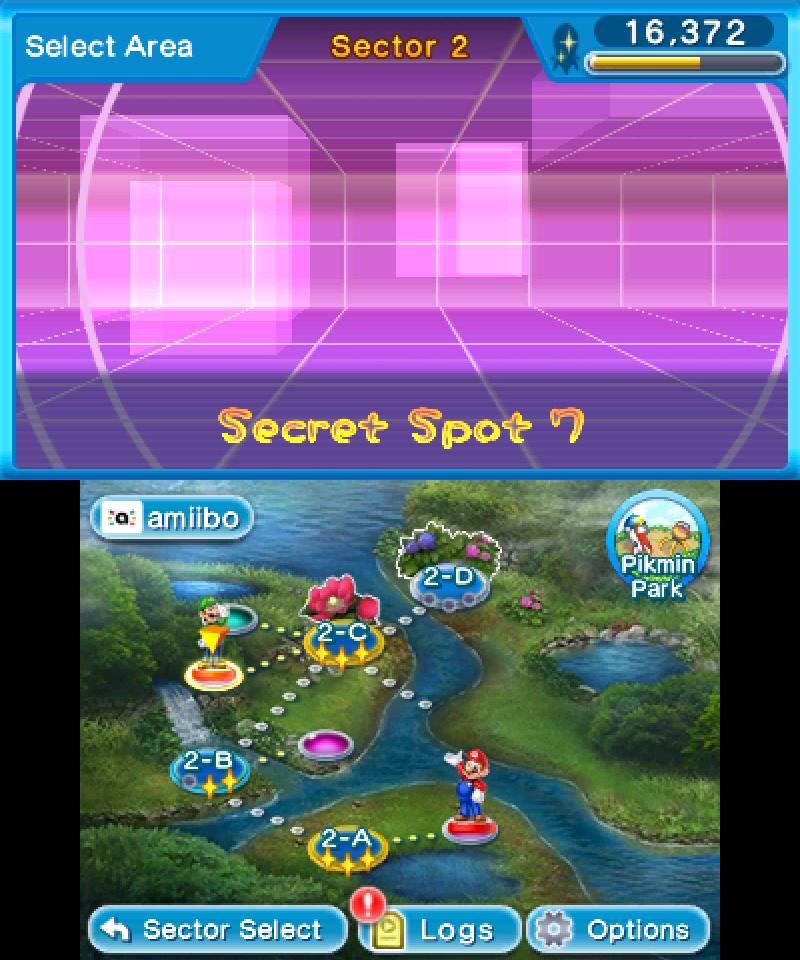 Hey! Pikmin - Filled-in Secret Spots