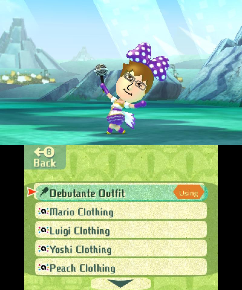 Miitopia amiibo Costumes