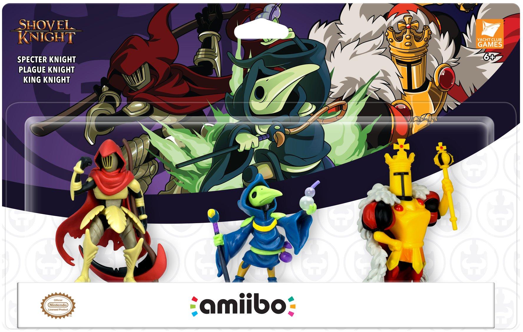 Shovel Knight - amiibo 3 pack