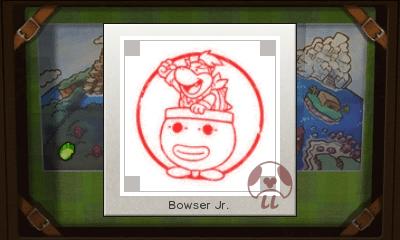 Mario & Luigi: Superstar Saga + Bowser's Minions - Bowser Jr. Stamp