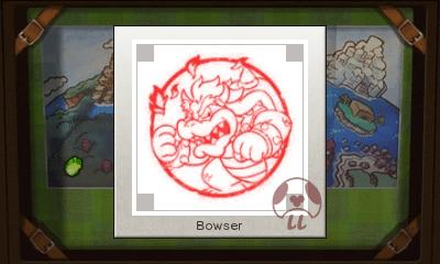 Mario & Luigi: Superstar Saga + Bowser's Minions - Bowser Stamp