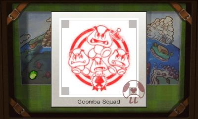 Mario & Luigi: Superstar Saga + Bowser's Minions - Goomba Squad Stamp