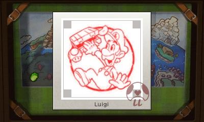 Mario & Luigi: Superstar Saga + Bowser's Minions - Luigi Stamp
