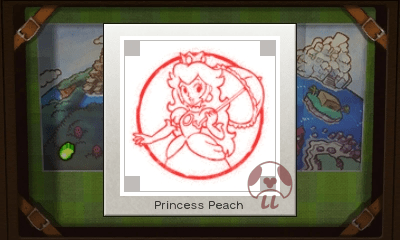 Mario & Luigi: Superstar Saga + Bowser's Minions - Princess Peach Stamp