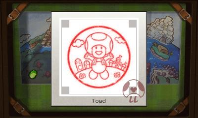 Mario & Luigi: Superstar Saga + Bowser's Minions - Toad Stamp