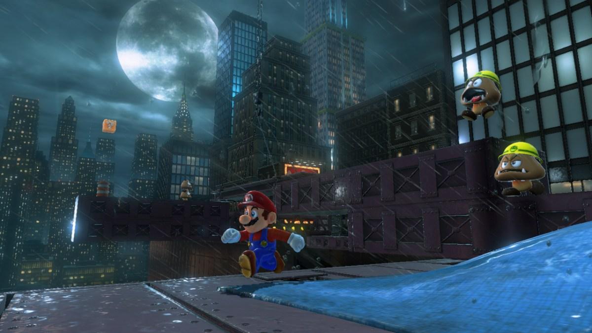 Super Mario Odyssey - Metro Kingdom