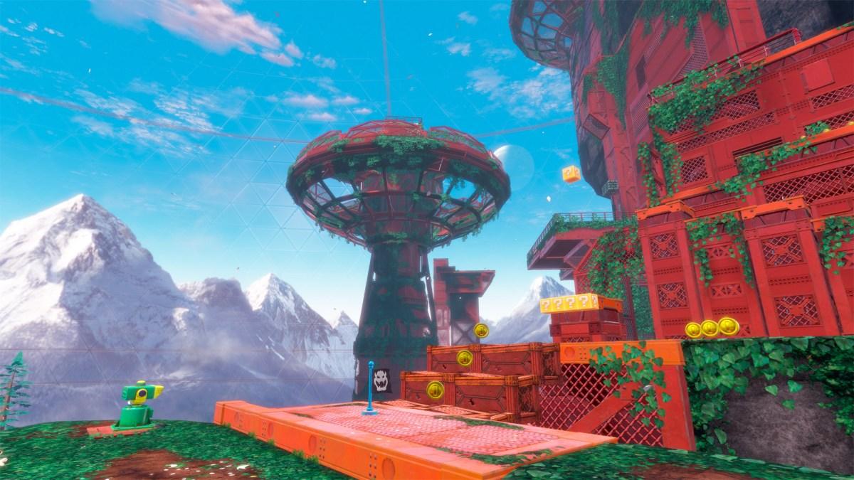 Super Mario Odyssey - Wooded Kingdom