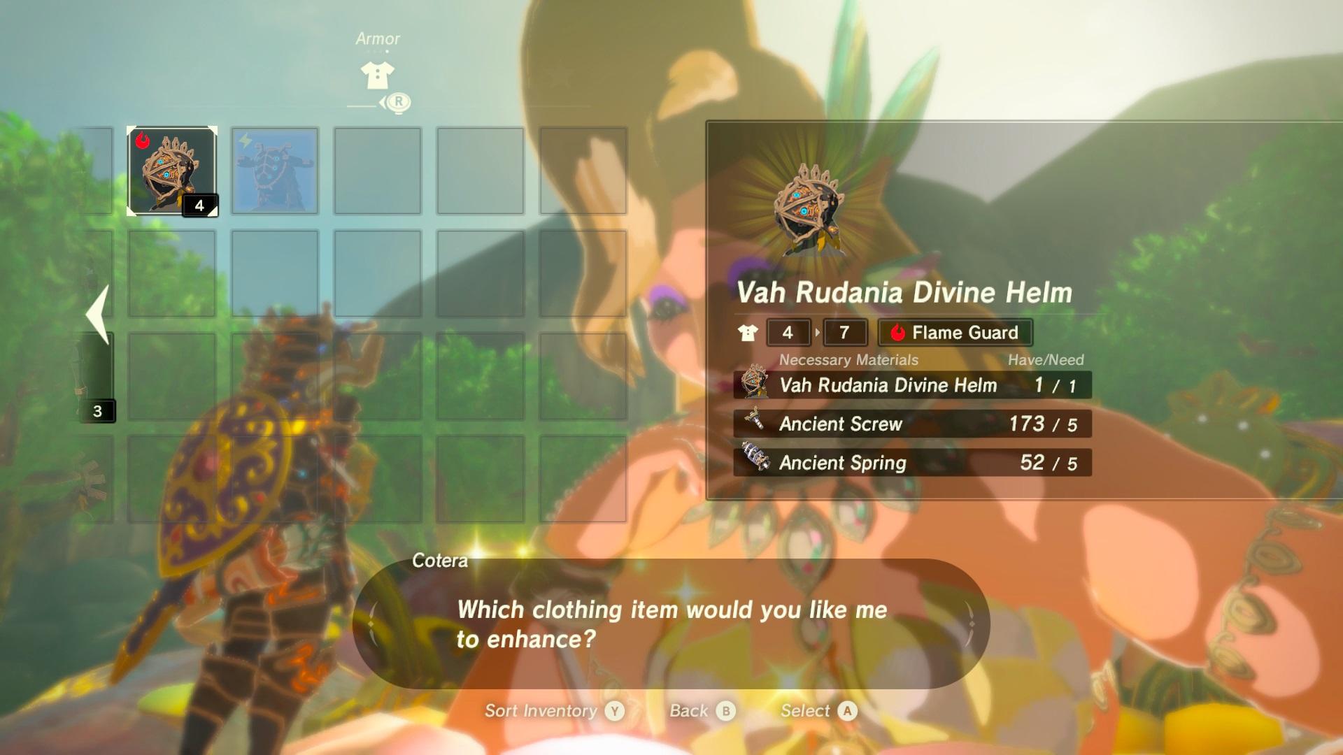 Breath of the Wild - Divine Helm Level 2 Upgrade