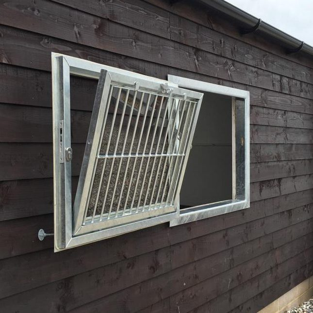 Galvanised Tilt And Swing Window BY Monarch Equestrian