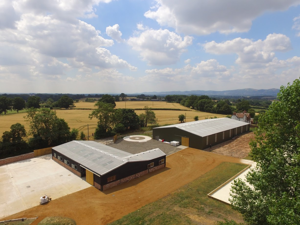 Equestrian Build By Elmtree Construction with Monarch Equestrian Stables