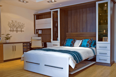 Tobacco Walnut Wallbed