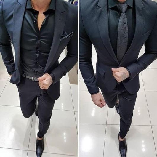 tinuta all black