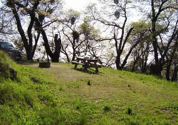 The hike up to the marker where general fremont flew the american flag for the first time in california is a nice little hike which my 4 and 6 year old were able to make and get a sense of. Fremont Peak 1