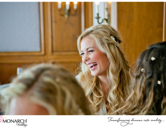 bride-with-bridesmaids-at-Blush-french-vintage-westgate-hotel-wedding
