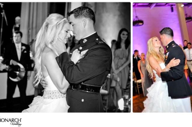 First-dance-Prado-purple-wedding