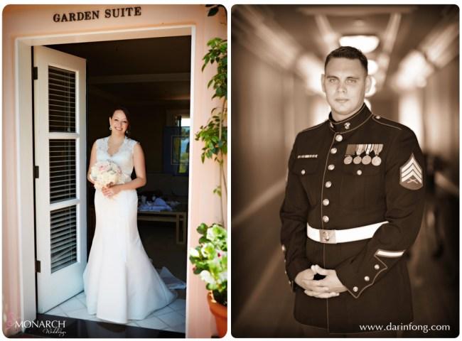 Bride-and-groom-before-ceremony-la-valencia-hotel-wedding