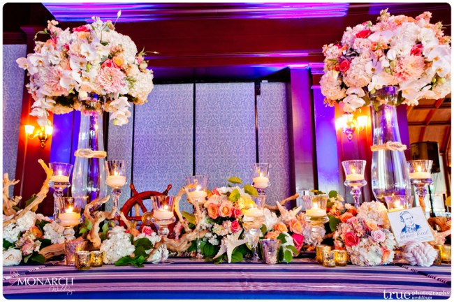 Head-table-ships-wheel-Nautical-theme-wedding-hotel-del-coronado