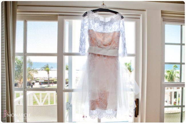 Vintage-nautical-wedding-hotel-del-lace-blush-dress