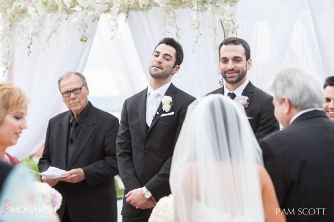 Groom-emotoional-ceremony-hotel-del-coronado-wedding