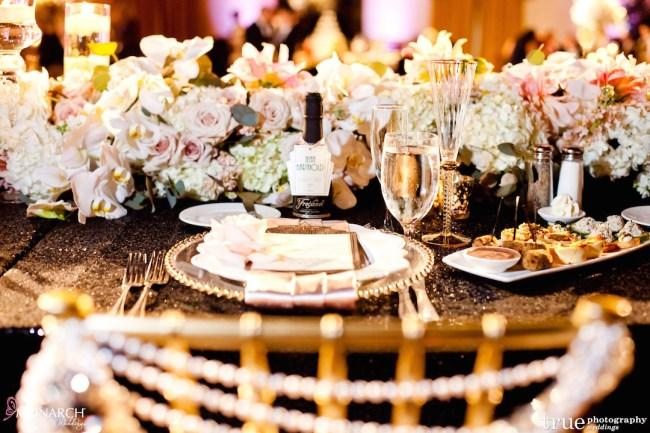 Prado-at-Balboa-Park-wedding-table-details-mini-champagne-bottle