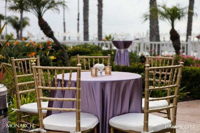 lavender-satin-linen-gold-chiavari-chairs-hotel-del-wedding