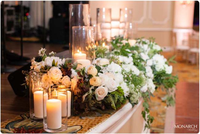Candles-garden-roses-Hotel-Del-Coronado-Wedding