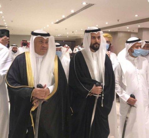 """""""عبد الحق"""" يحتفل بزواج ابنته بمكة المكرمة"""