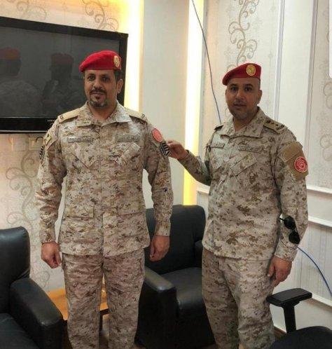"""""""السواط"""" رقيب أول بالشرطة العسكرية الخاصة بالطائف"""