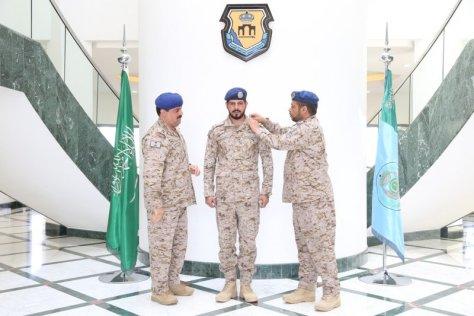 """""""الغامدي"""" إلى رتبة ملازم فني بقاعدة الملك عبدالله"""