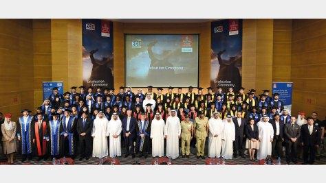 الدائرة الأمنية في «الإمارات» تحتفل بتخريج دفعة جديدة