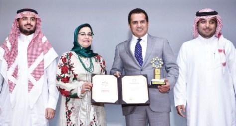 """""""إطعام"""" تحقق جائزة أفضل جمعية على المستوى العربي"""
