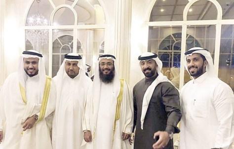 احتفال العوفي وحمدان بزفاف أيمن