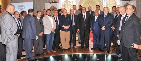 الجالية المصرية تحتفي بالسفير هشام فتحي