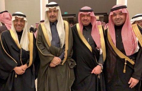 """السكرتير الخاص لأمير المدينة المنوّرة يحتفل بزواج نجله """"عبدالله"""""""
